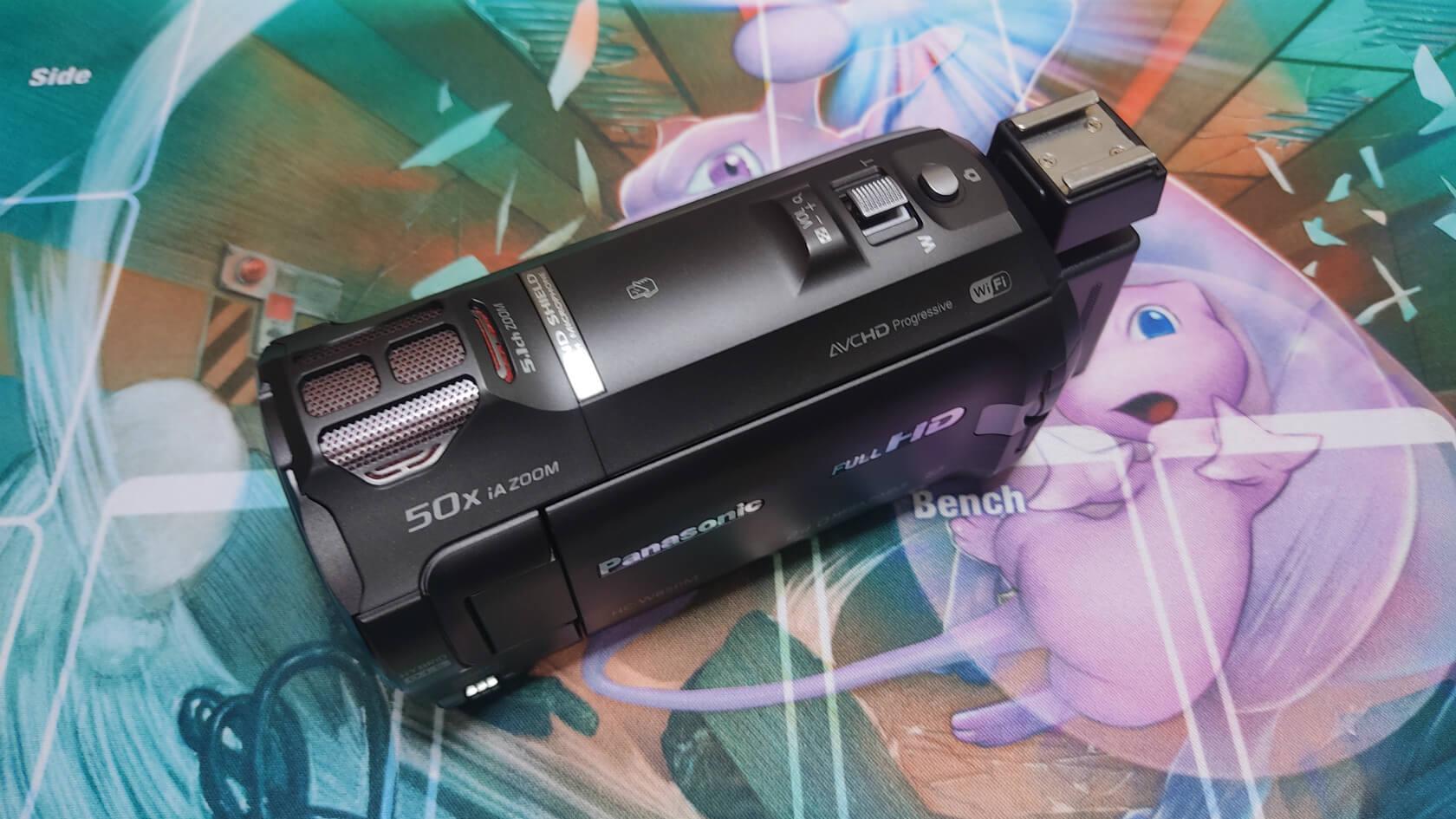 ポケカYouTuberにおすすめの動画カメラ①【型落ちビデオカメラ】/撮影しやすく高性能。まさに動画のためのカメラ